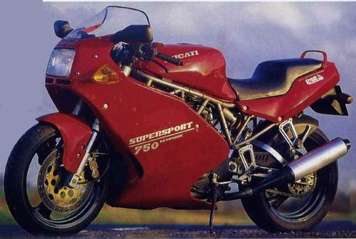 DUCATI 750 SS 1991-1994
