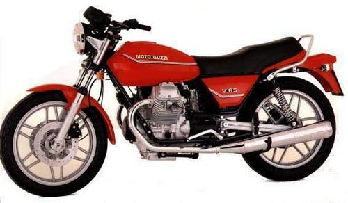 MOTO GUZZI 650 V 65SP 1983-1985