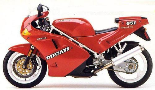 DUCATI 851 STRADA 1991-1993