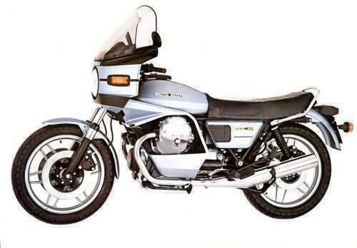 MOTO GUZZI 1000 SP1 1976-1987