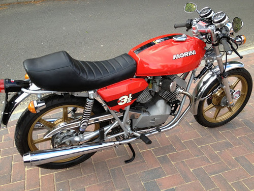 MOTO MORINI 350 3 1/2 TOURING 1979