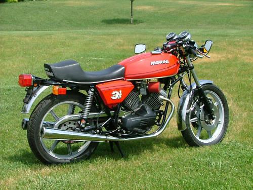 MOTO MORINI 350 3 1/2 TOURING 1980