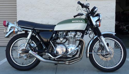 Honda CB550-500 K 1972-78  Replica vintage stainless exhaust