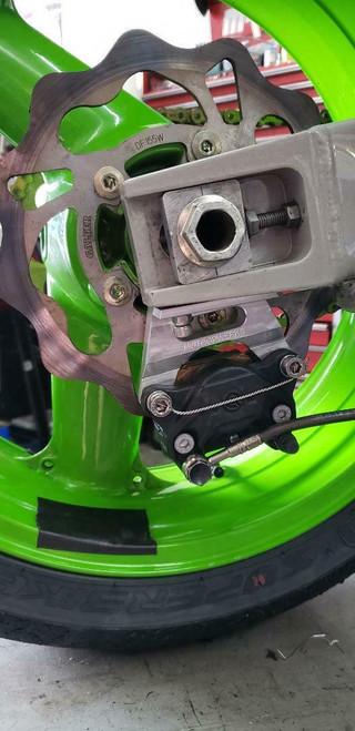 ZX7-r zxr750 rear caliper mount