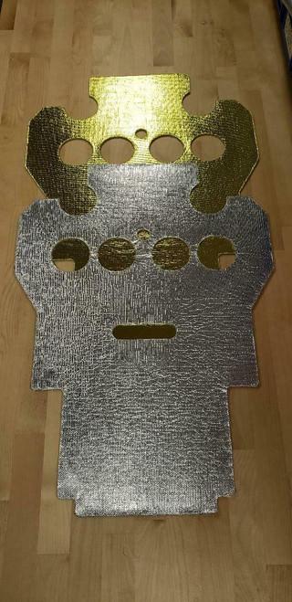 1986-1993 Gsxr750-1100 Heat Shields