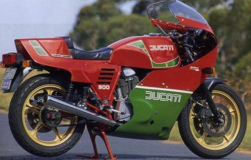 DUCATI 1000 MIKE HAILWOOD 1984-1986