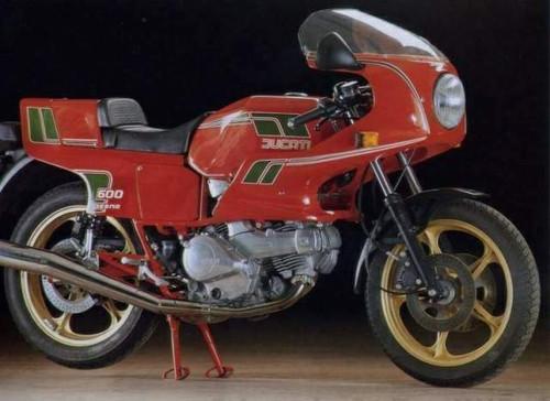 DUCATI 600 PANTAH 1980-1984