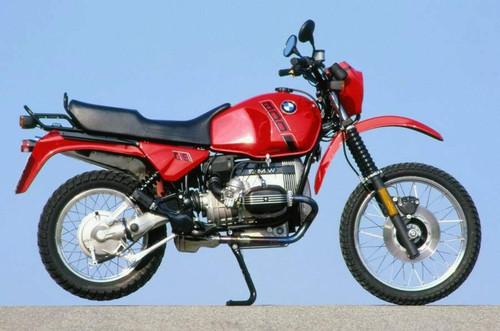 BMW GS R80GS 1988-1990