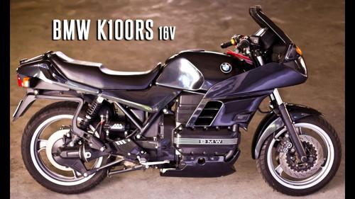 BMW K100 RS 16V ABS 1990-1992 REAR STAINLESS BRAKE LINE KIT