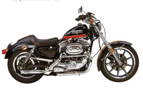 HARLEY DAVIDSON 1100 SPORTSTER XLH 1984-1987
