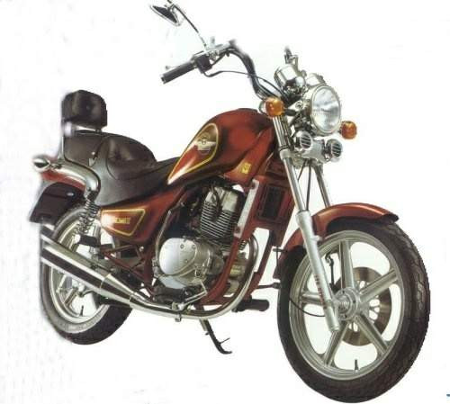 HYOSUNG CRUISE1/2 125 1996-1999