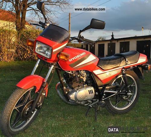HYOSUNG GF 125 1998