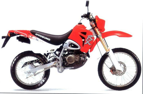 HYOSUNG XRX125 OFFROAD 1999-2002