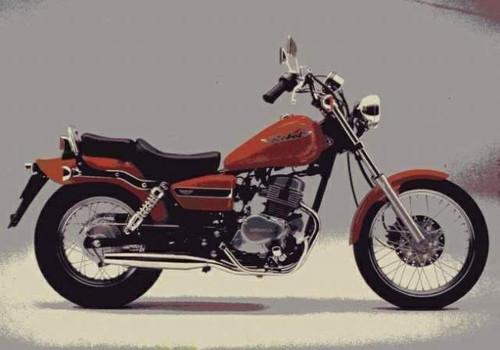 HONDA 125 REBEL 1995-1996