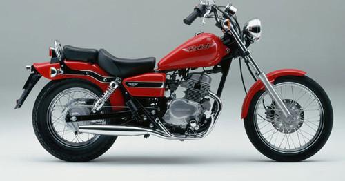 HONDA 125 REBEL 1997-2001