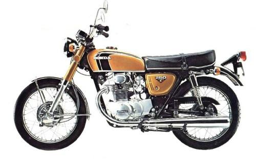 HONDA CB 250 G 1974-1976