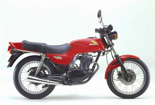 HONDA CB 250 RS 1982-1983