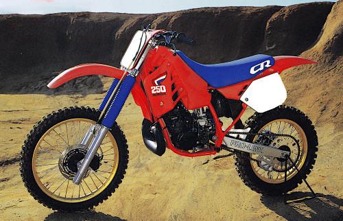 HONDA CR250R 1987-1991
