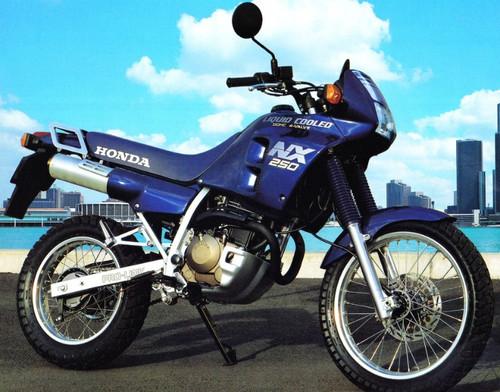 HONDA NX 250 1988-1990