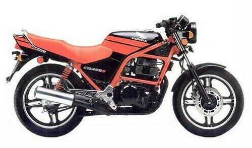 HONDA CB450 S 1987-1989