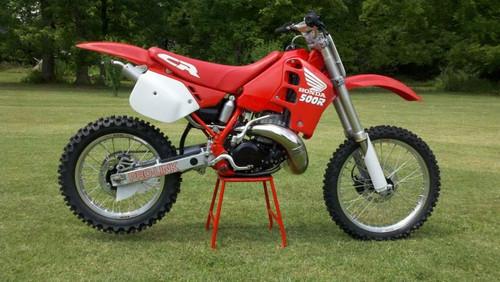 HONDA CR500R 1989-1991