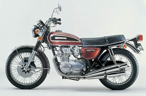 HONDA CB550F SUPERSPORT 1974-