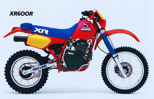 HONDA XR600R 1985-1987