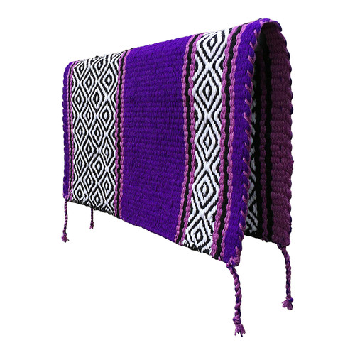Show Purple Reversible Western Saddle Blanket.