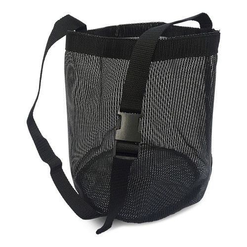 Black Mesh Horse Feed Bag/Nose Bag