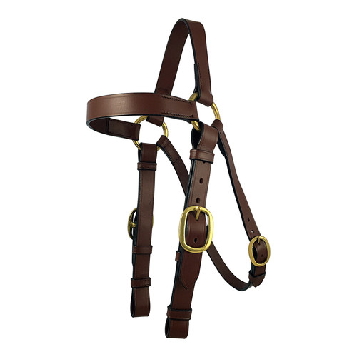 Stockman Barcoo Bridle - Side View