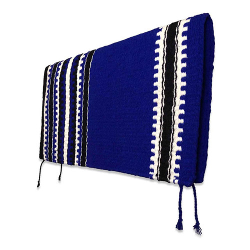 Royal Blue Navajo Western Saddle Blanket