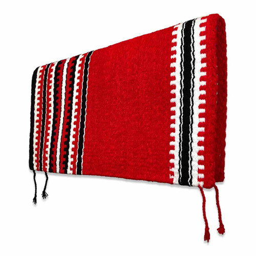 Red Navajo Western Saddle Blanket