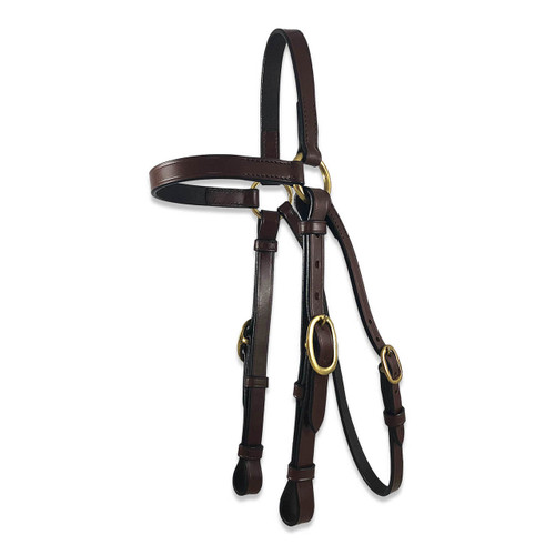 Leather Barcoo Bridle - Stock Bridle