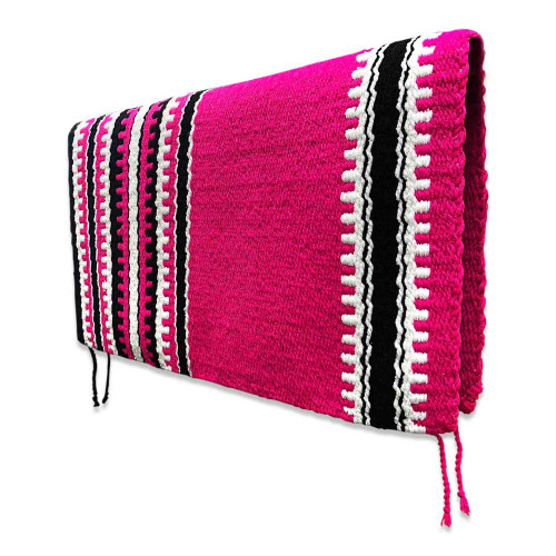 Western Saddle Blanket Hot Pink Cashmillon