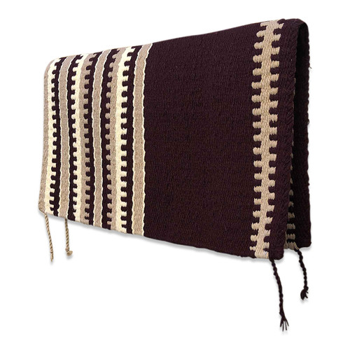 Brown Navajo Western Saddle Blanket