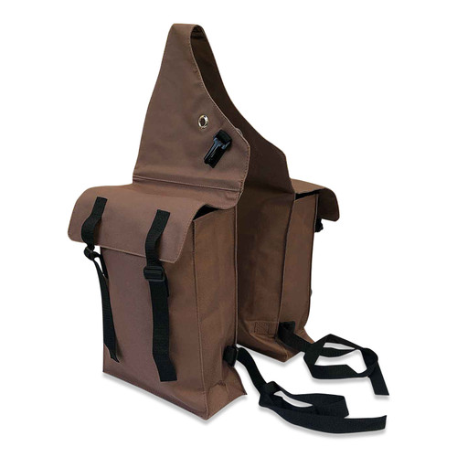 Horse Saddle Bags - Brown