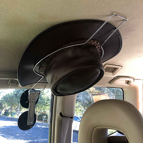 Quick Stick Hat Saver With Suction Cups For Brim Style Hats