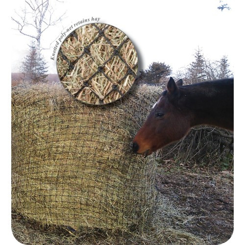 Heavy Duty Round Bale Slow Feed Hay Net
