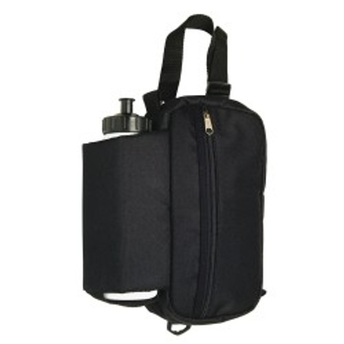 Insulated Saddle Bottle Bag With Pouch