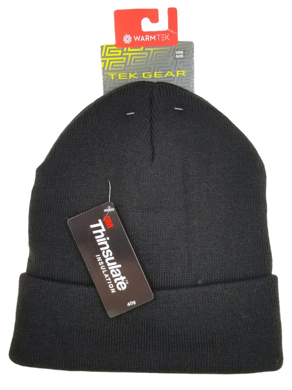 767f6ab8c9a Tek Gear Knit Watchcap Beanie - Black - Black Mountain Supply