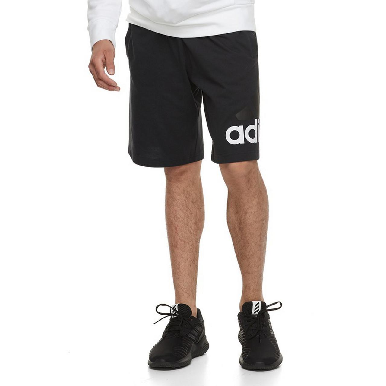 Men's Adidas Athletic Jersey Shorts