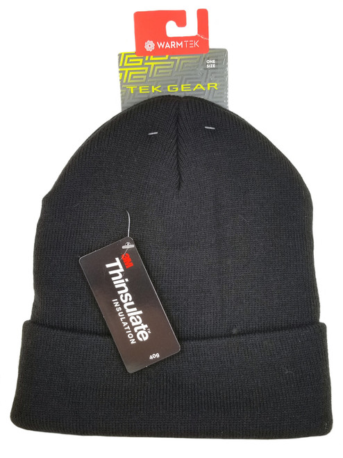 107046a51c9 Tek Gear Knit Watchcap Beanie - Charcoal Gray - Black Mountain Supply