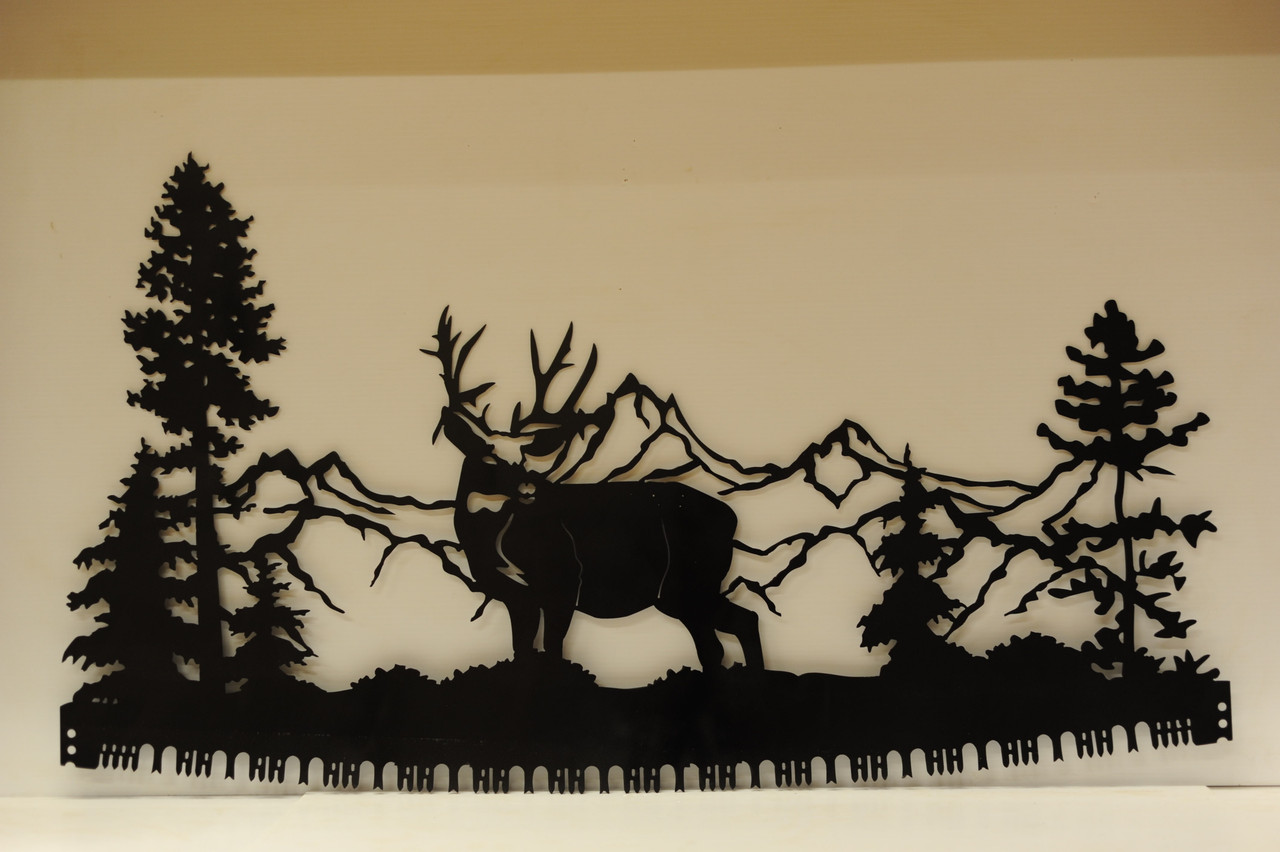 Standing Deer Crosscut Saw