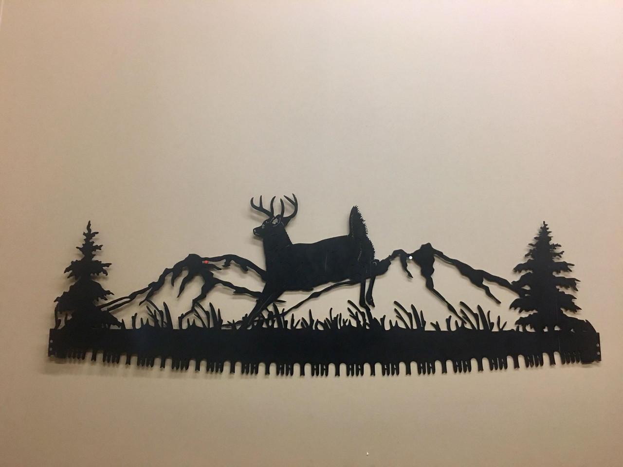 Jumping Deer Crosscut Saw