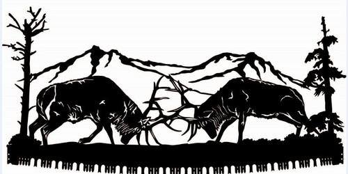 Fighting Elk Crosscut Saw