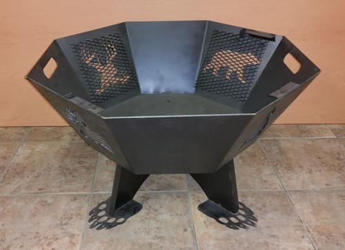 Octagon Fire Pit 30""