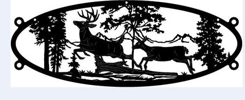 Buck & Doe Oval