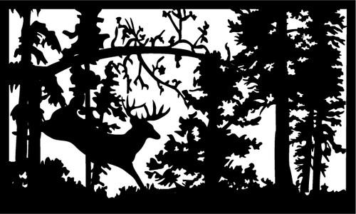 Jumping Deer Railing