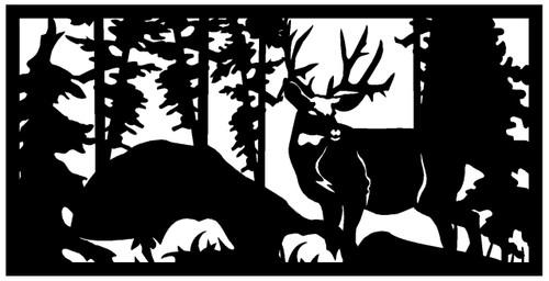 Standing Deer Railing