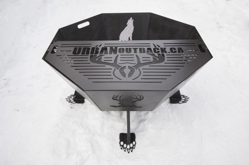 Octagon Fire Pit Grate 44""